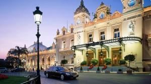 Сады и терасса казино Монте-Карло